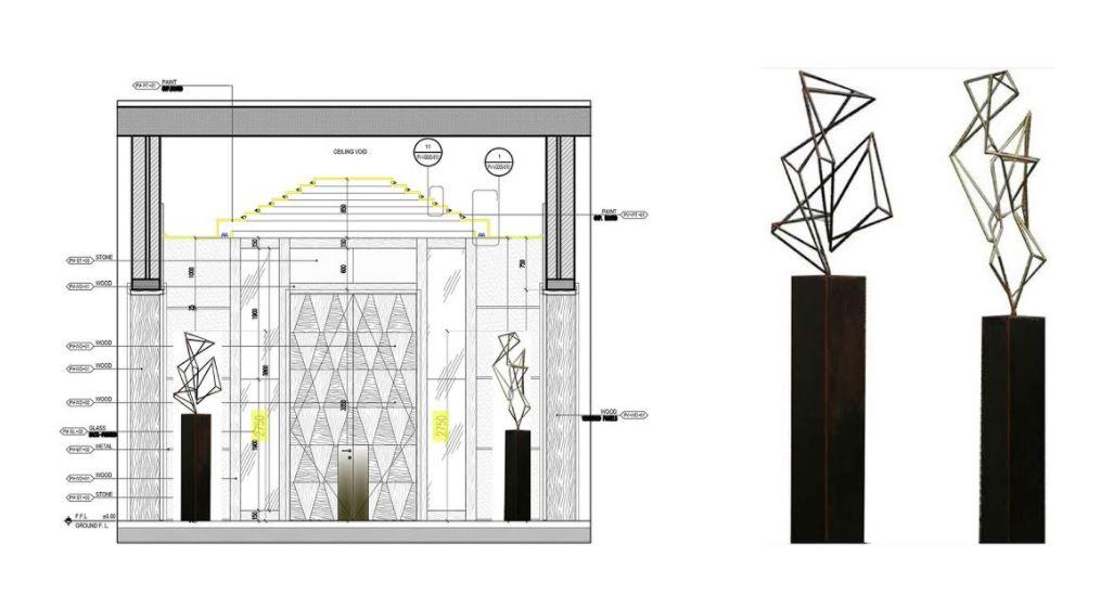 American Concept & Design, LLC Interior Layout